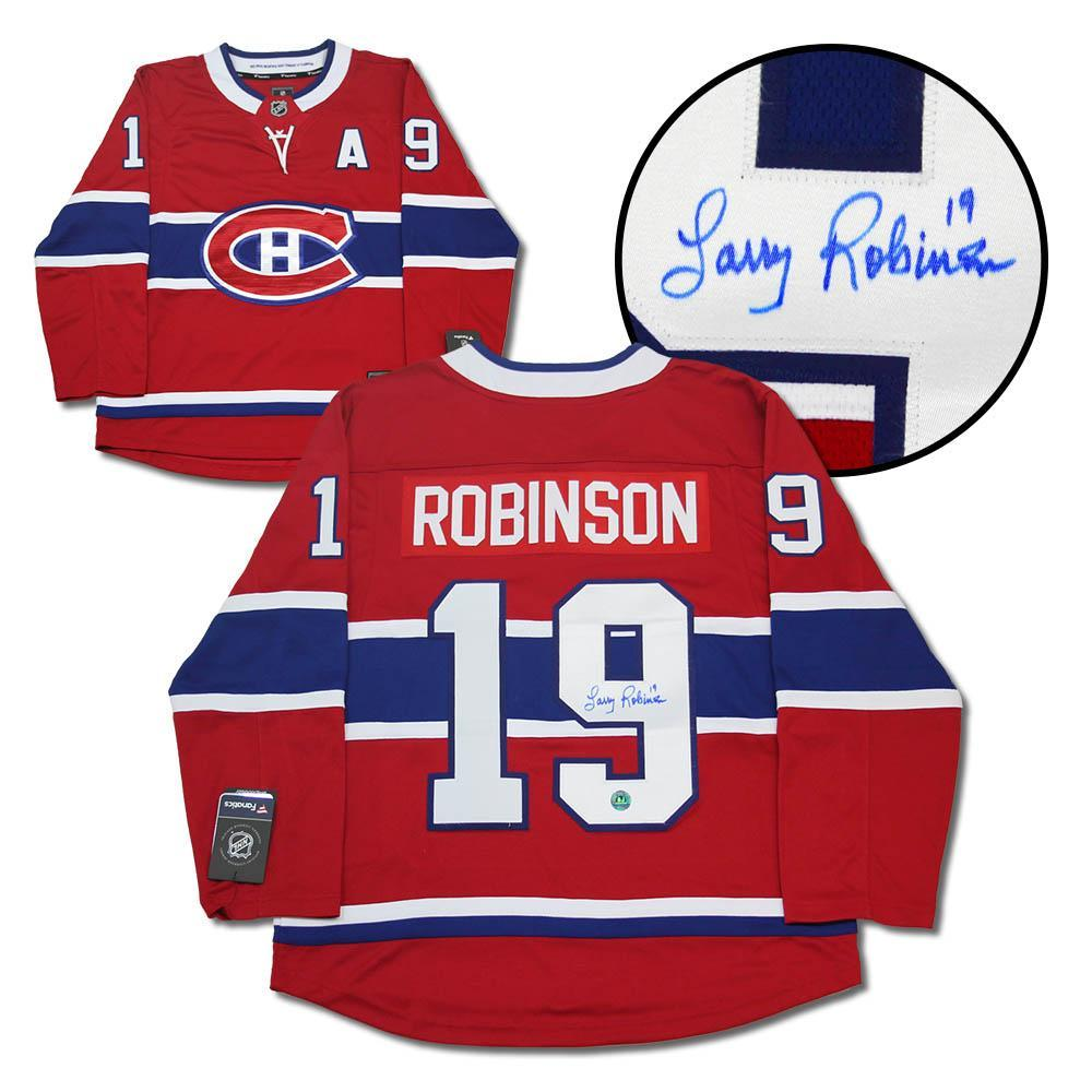 Larry Robinson Montreal Canadiens Autographed Fanatics Hockey Jersey