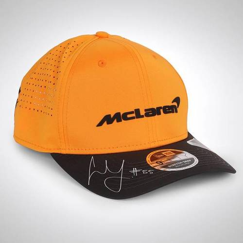 Photo of Carlos Sainz Jr 2020 Signed McLaren Cap