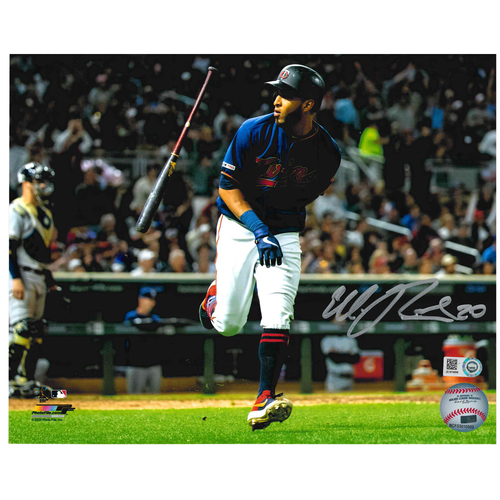 Photo of Minnesota Twins Autographed 8x10 Photo - Eddie Rosario