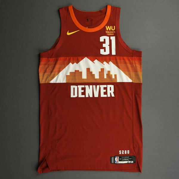 Image of Vlatko Cancar - Denver Nuggets - Game-Worn City Edition Jersey - Christmas Day' 20 - Dressed, Did Not Play (DNP)