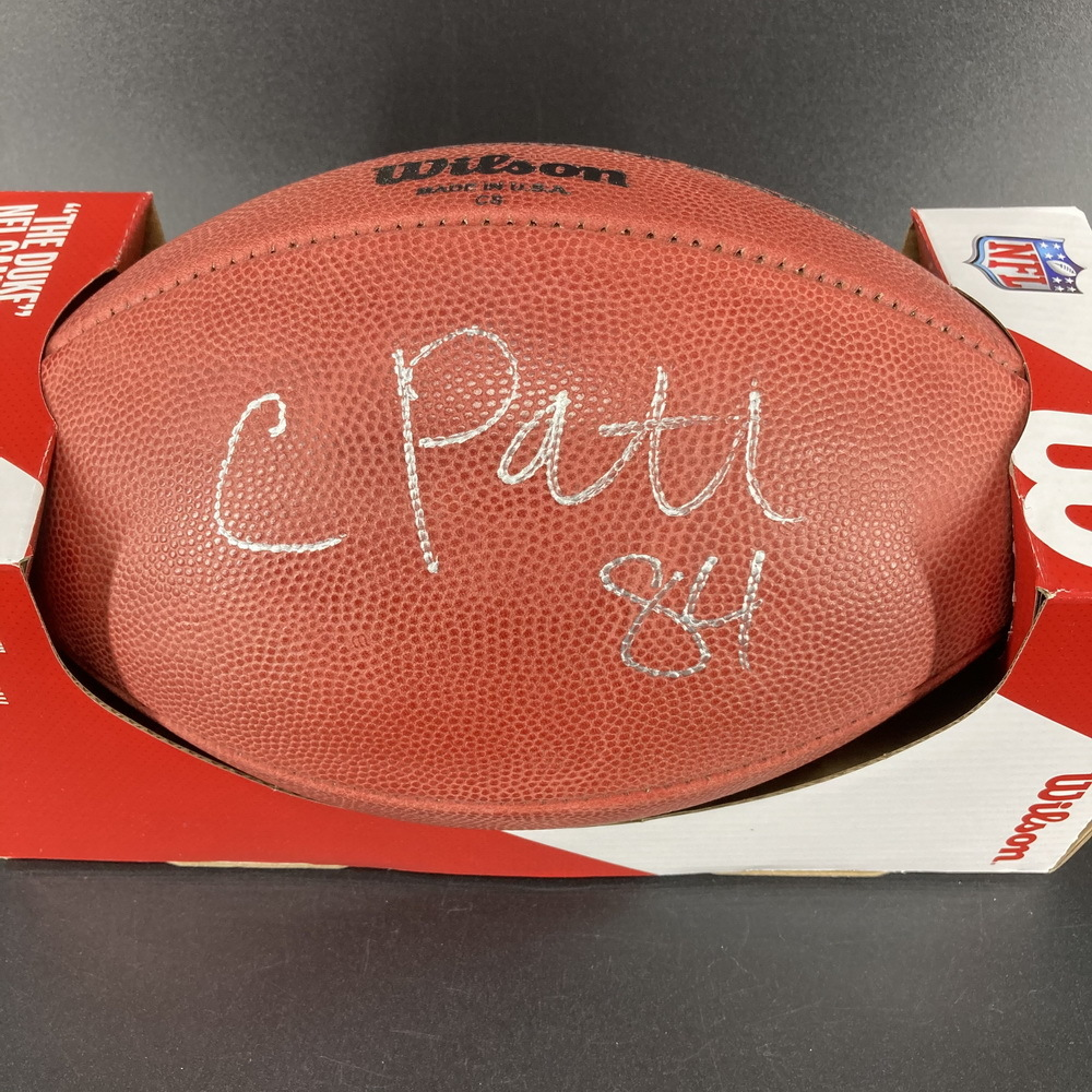 NFL - Bears Cordarelle Patterson Signed Authentic Football