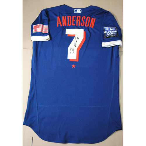 Photo of Tim Anderson 2021 Major League Baseball All-Star Game Autographed Jersey