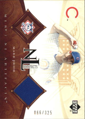 Photo of 2005 Artifacts AL/NL Artifacts #MP Mark Prior Jsy/325