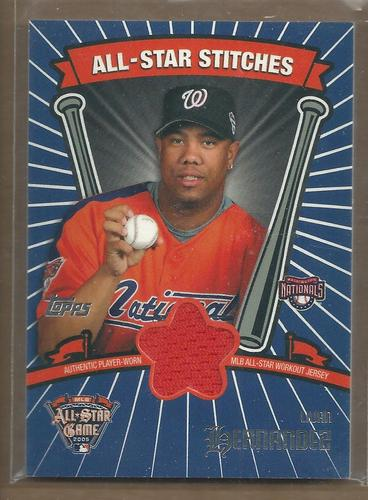 Photo of 2005 Topps Update All-Star Stitches #LH Livan Hernandez F