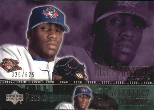 Photo of 2002 UD Piece of History #94A Corey Thurman 21CP RC