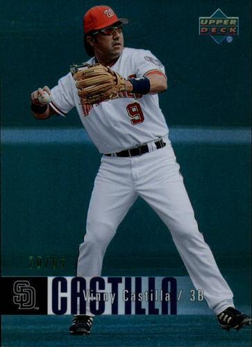 Photo of 2006 Upper Deck Special F/X Green #500 Vinny Castilla /99
