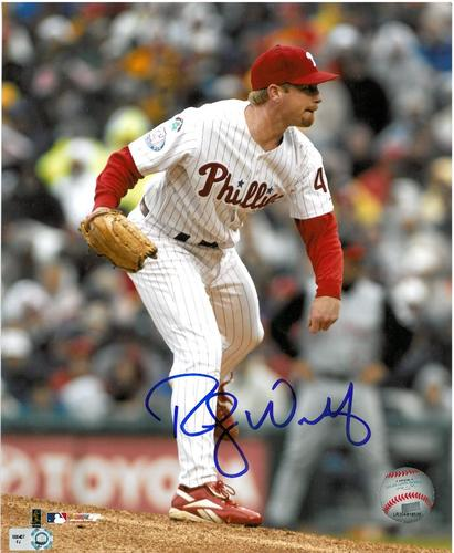 Photo of Randy Wolf Autographed 8x10