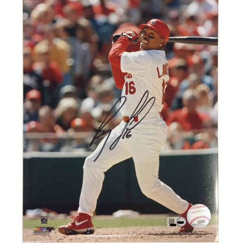 Photo of Cardinals Authentics: Ray Lankford Autographed Photo