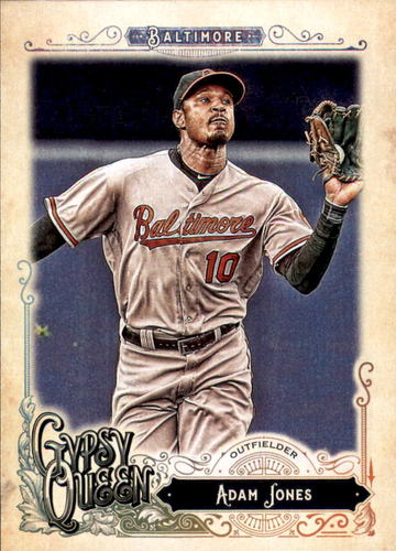Photo of 2017 Topps Gypsy Queen #210 Adam Jones