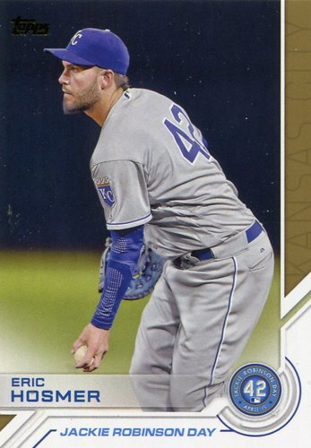 Photo of 2017 Topps Jackie Robinson Day #JRD9 Eric Hosmer