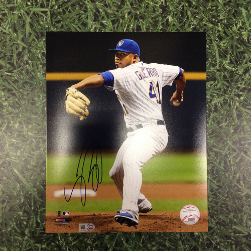 Junior Guerra Autographed 8