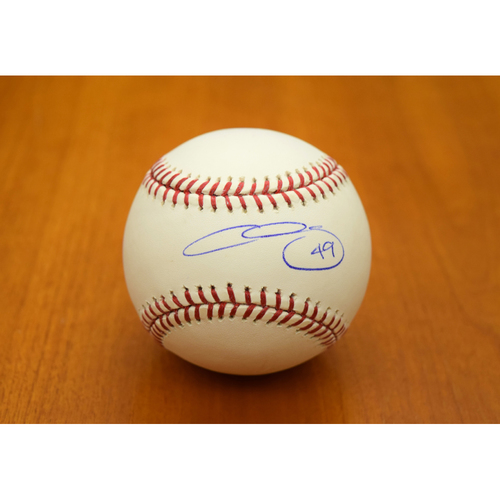 Photo of Chris Sale Boston Red Sox Autographed Baseball (NOT MLB Authenticated)