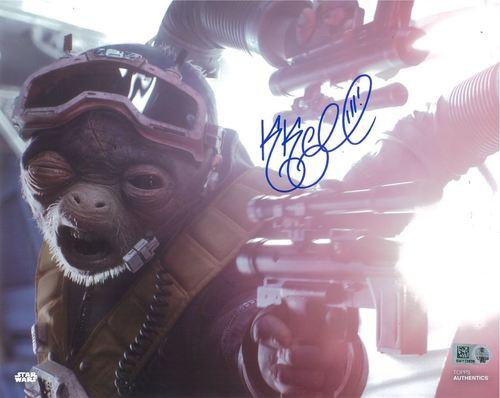 PREORDER Katy Kartwheel As Rio Durant 8x10 Autographed in Blue Ink