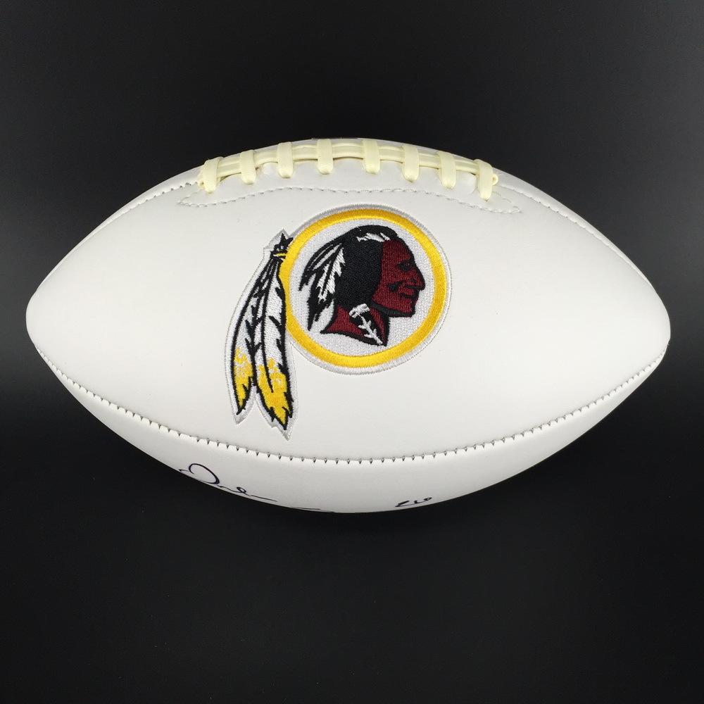 Redskins - Orlando Scandrick Signed Panel Ball
