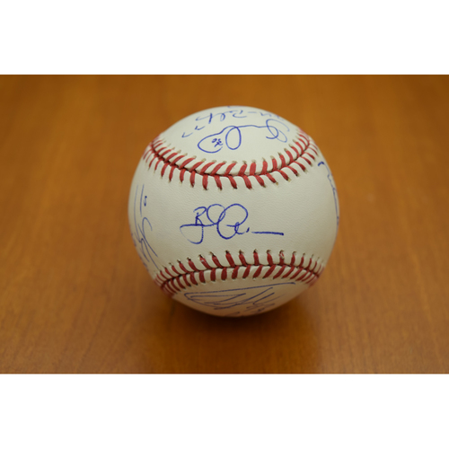 Photo of 2017 Detroit Tigers Team Signed Baseball (MLB Authenticated)