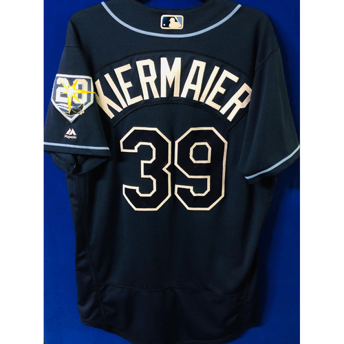 Photo of Game-Used Jersey: Kevin Kiermaier (size 44) - September 29, 2018 v TOR