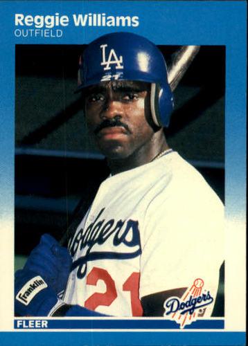 Photo of 1987 Fleer #460 Reggie Williams