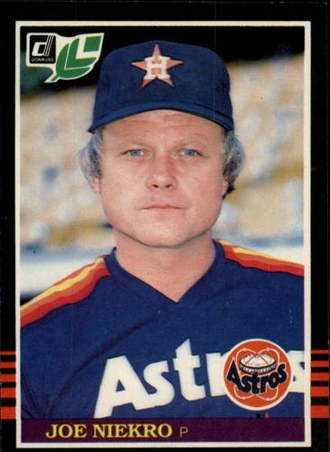 Photo of 1985 Leaf/Donruss #189 Joe Niekro