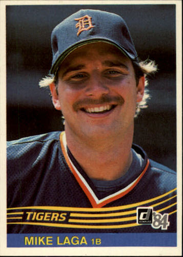 Photo of 1984 Donruss #491 Mike Laga