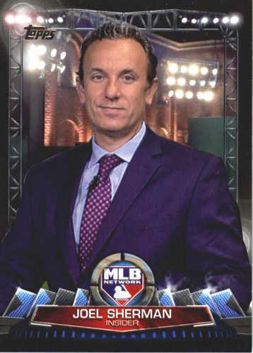 Photo of 2017 Topps MLB Network #MLBN13 Joel Sherman