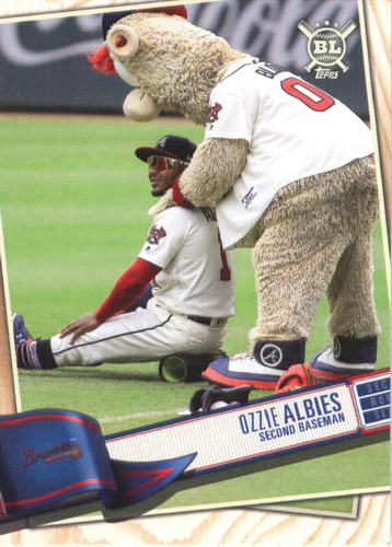 Photo of 2019 Topps Big League #208 Ozzie Albies