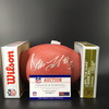 NFL - Broncos Drew Lock Signed Authentic Football with 2019 Draft Logo