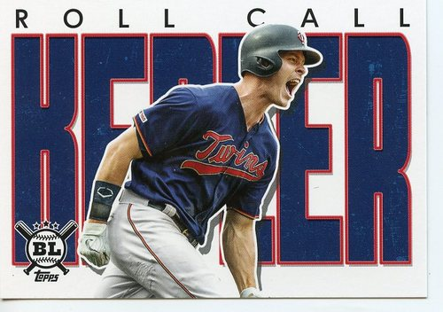 Photo of 2020 Topps Big League Roll Call #RC11 Max Kepler