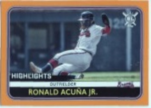 Photo of 2020 Topps Big League Orange #300 Ronald Acuna Jr. HL