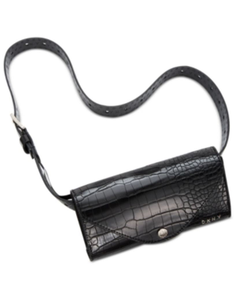 Photo of Dkny Croc-Embossed Belt Bag