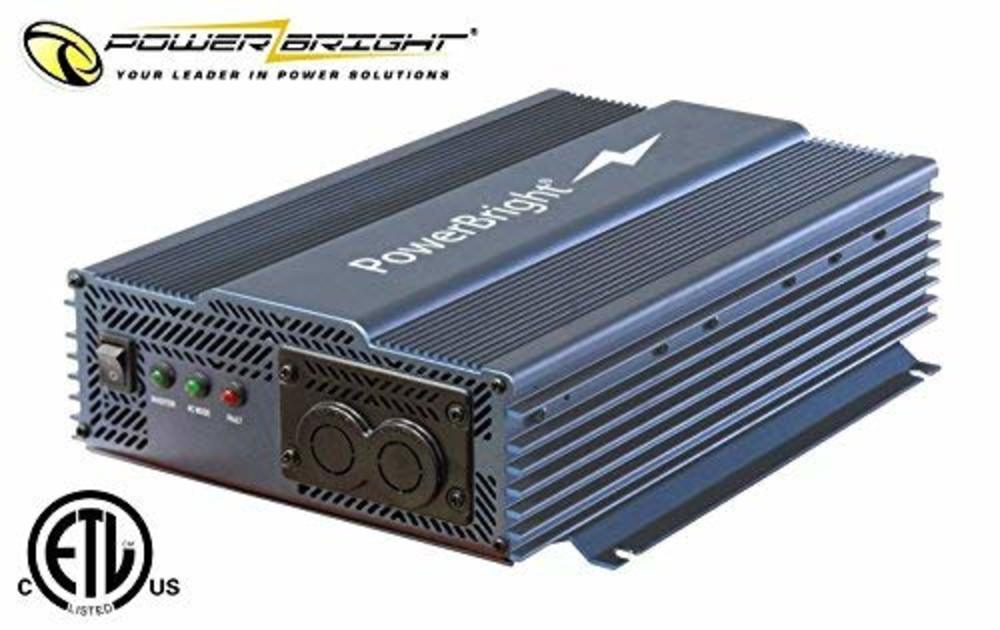 Photo of Power Bright APT1200-12 Pure Sine Power Inverter with Automatic Transfer