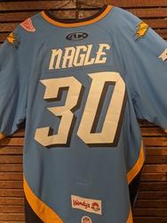 Photo of Pat Nagle Toledo Walleye Game Worn Jersey
