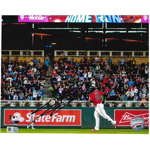 Photo of Minnesota Twins Autographed 8x10 Photo - Miguel Sano