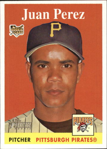 Photo of 2007 Topps Heritage #306 Juan Perez RC