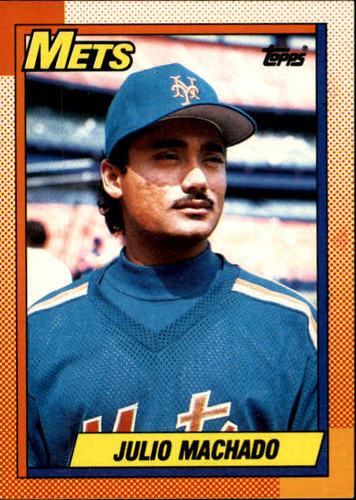Photo of 1990 Topps #684 Julio Machado RC