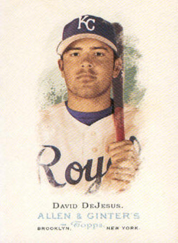 Photo of 2006 Topps Allen and Ginter #239 David DeJesus