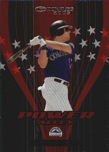 Photo of 2005 Donruss Power Alley Red #24 Todd Helton