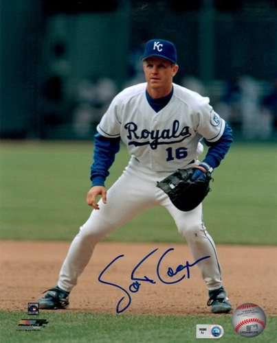 Photo of Scott Cooper Autographed Royals 8x10 Photo