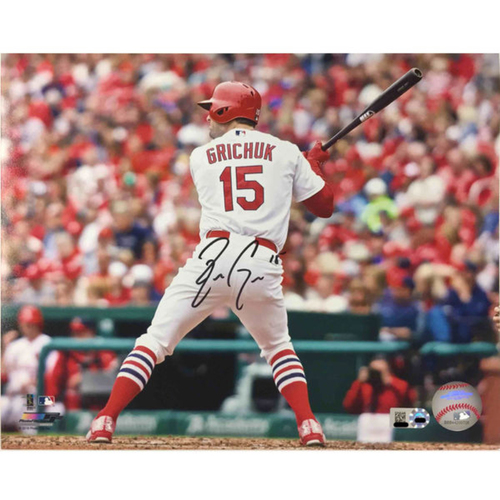 Cardinals Authentics: Randal Grichuk Autographed Photo