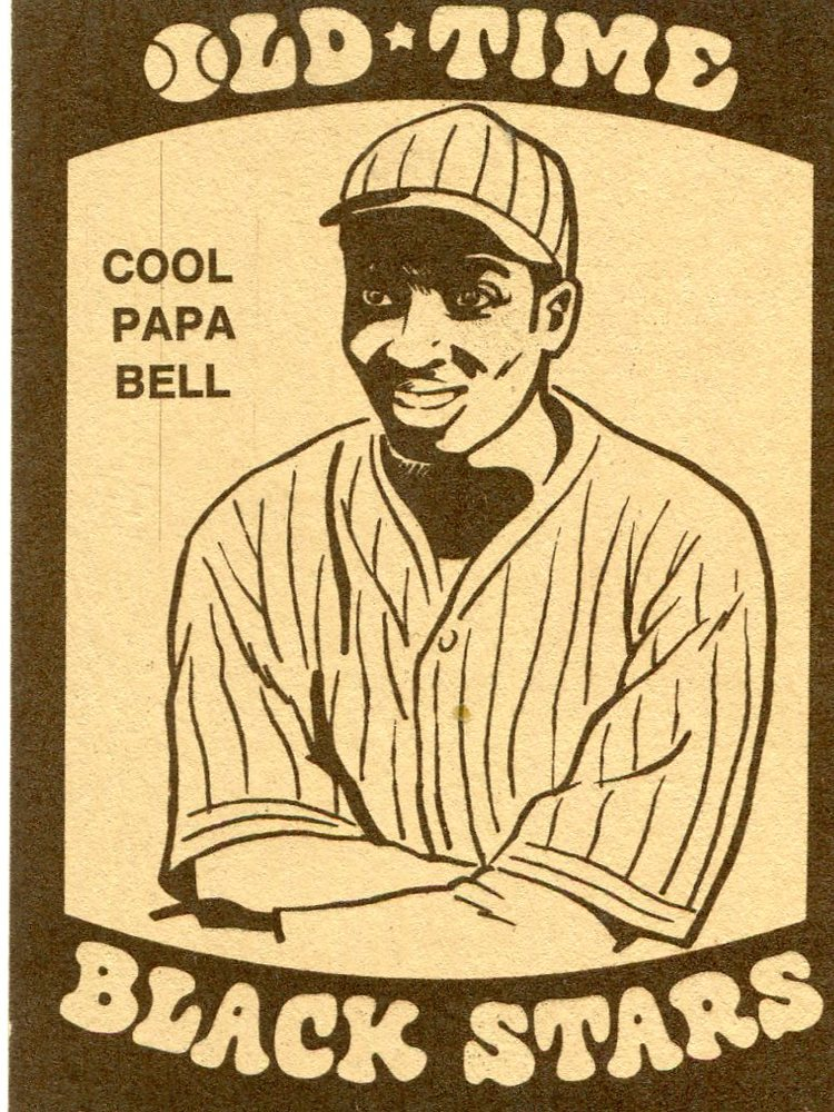 1974 Laughlin Old Time Black Stars #24 Cool Papa Bell