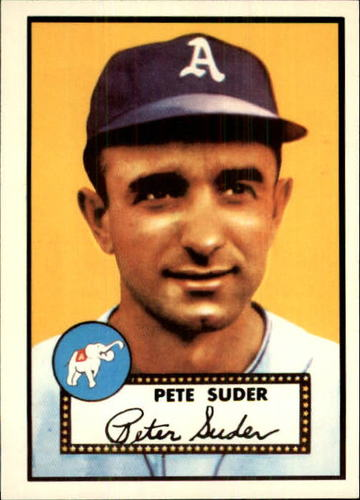 Photo of 1983 Topps 1952 Reprint #256 Pete Suder