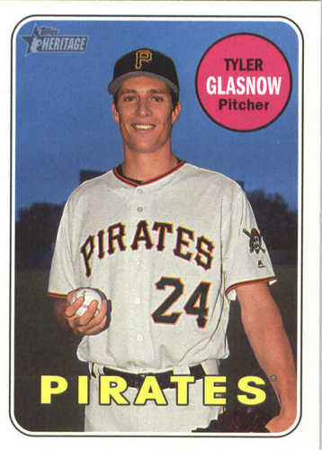 Photo of 2018 Topps Heritage #258 Tyler Glasnow