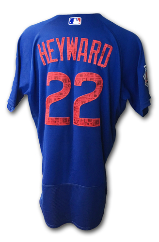Photo of Jason Heyward Jersey -- Spring Training 2018