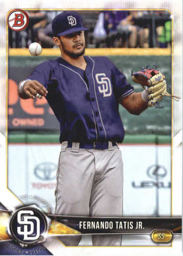 Photo of 2018 Bowman Prospects #BP114 Fernando Tatis Jr.