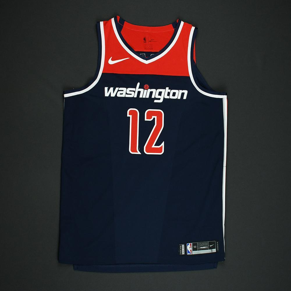 Kelly Oubre Jr - Washington Wizards - 2018 NBA Playoffs Game-Worn 'Statement' Jersey