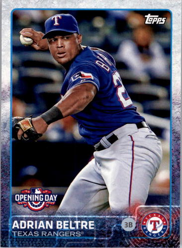 Photo of 2015 Topps Opening Day #182 Adrian Beltre