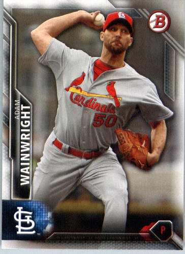 Photo of 2016 Bowman #118 Adam Wainwright