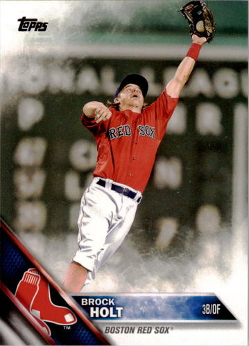 Photo of 2016 Topps #280 Brock Holt