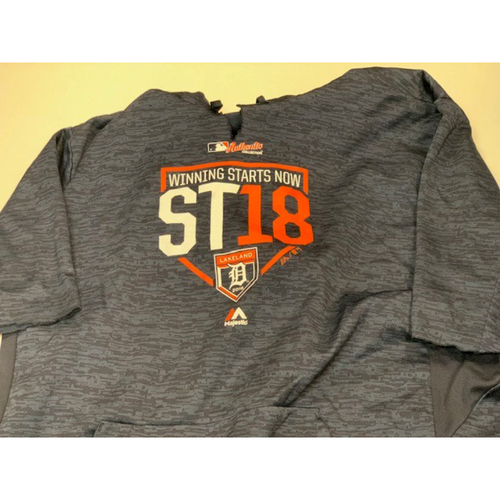 Photo of Team-Issued Spring Training Sweatshirt: #30
