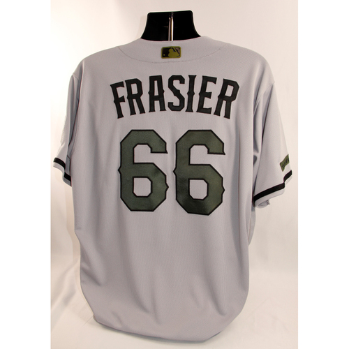 Photo of Team-Issued Memorial Day Jersey - Josh Frasier - 5/28/18