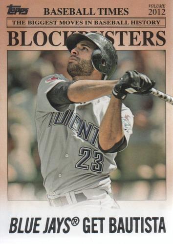 Photo of 2012 Topps Update Blockbusters #BB30 Jose Bautista
